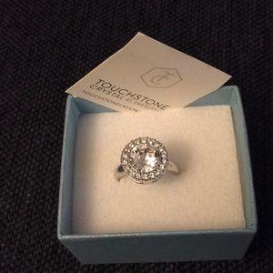 Touchstone Crystal by Swarovski Cocktail Ring